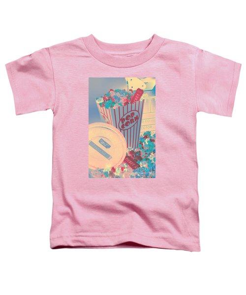 Retro Flicks Toddler T-Shirt