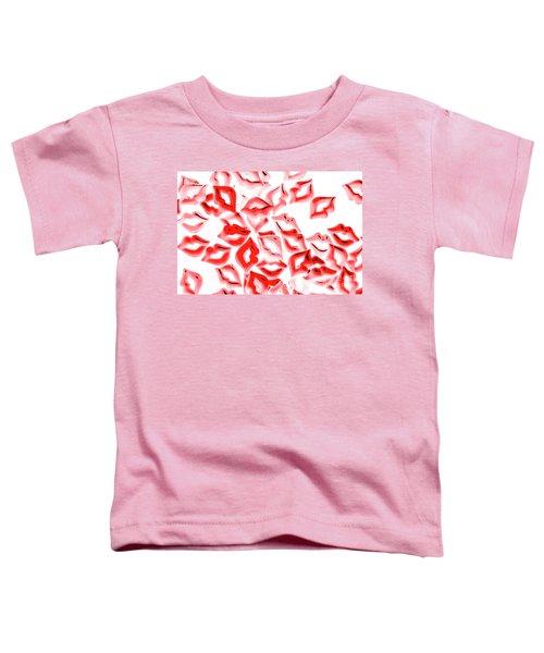 Retro Red Lips Toddler T-Shirt