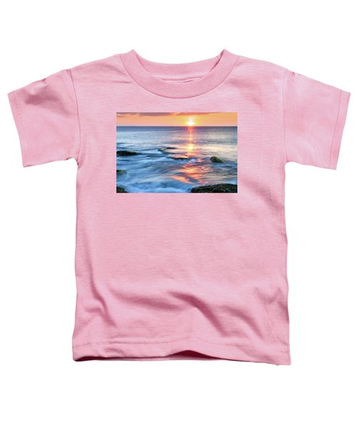 Rockport Pastel Sunset Ma. Toddler T-Shirt