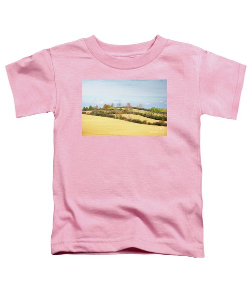 Rolling Hills In Fall Toddler T-Shirt