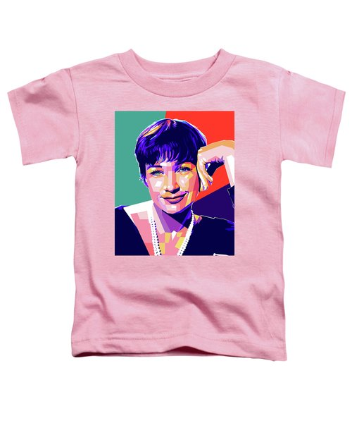 Shirley Maclaine Pop Art Toddler T-Shirt