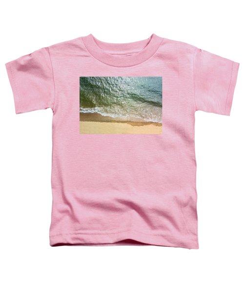 Simple Beach Waves Toddler T-Shirt