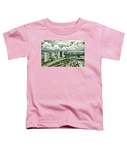 Toddler T-Shirt featuring the photograph Singapore by Chris Cousins