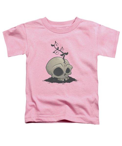 Skull Garden Toddler T-Shirt