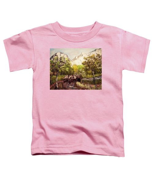 Snowy Day Toddler T-Shirt