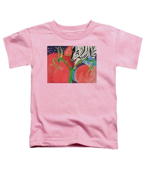 Space Zebra Toddler T-Shirt
