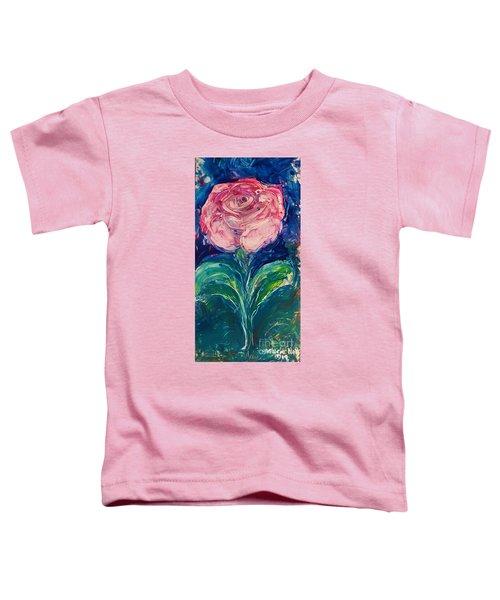 Standing Rose Toddler T-Shirt