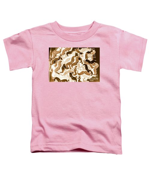 Stiff Upper Lip Toddler T-Shirt