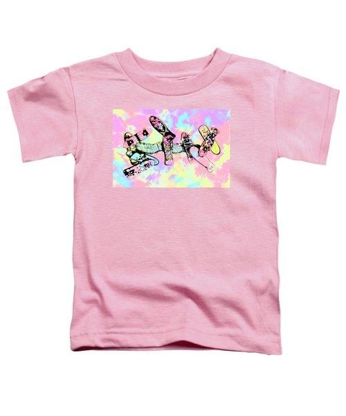 Street Sk8 Pop Art Toddler T-Shirt