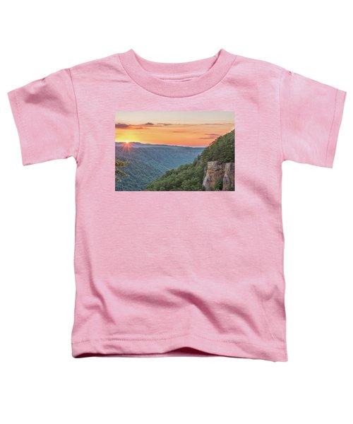 Sunset Flare Toddler T-Shirt