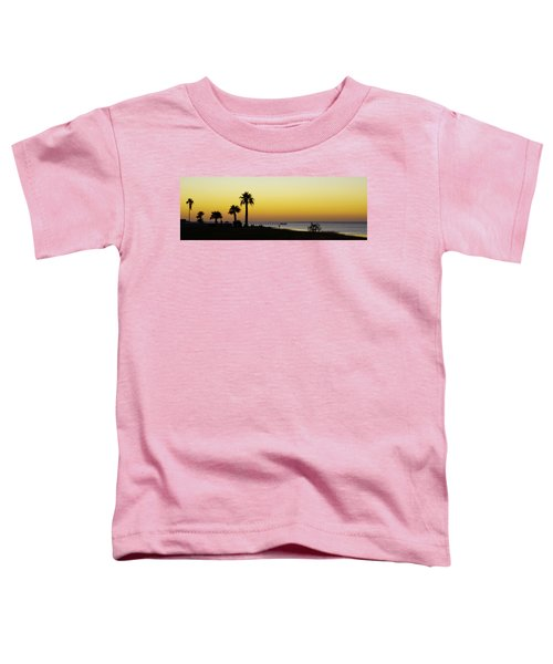 Sunset On Copano Bay, Texas Toddler T-Shirt