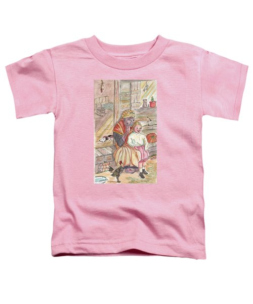 Taking Care Of The Owners Little Daughter Toddler T-Shirt
