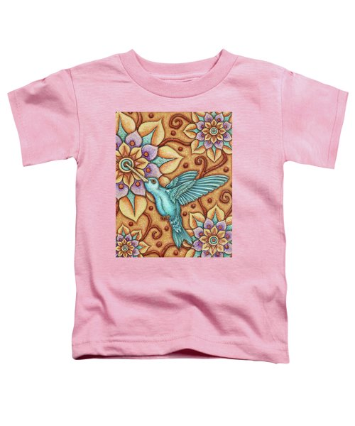 Tapestry Hummingbird Toddler T-Shirt