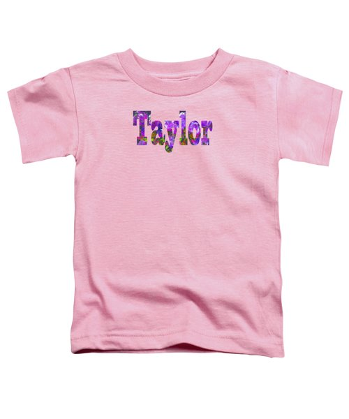 Taylor Toddler T-Shirt