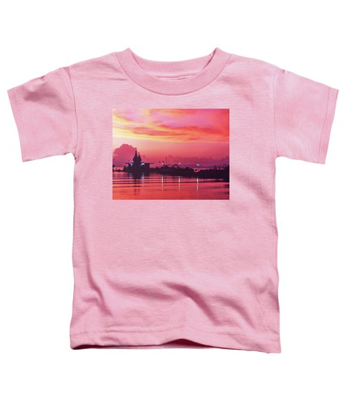 Temple On The Sea Toddler T-Shirt