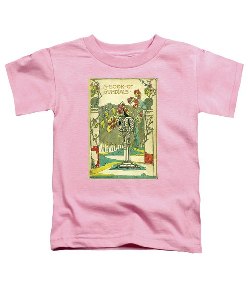 Cover Design For The Book Of Old Sundials Toddler T-Shirt
