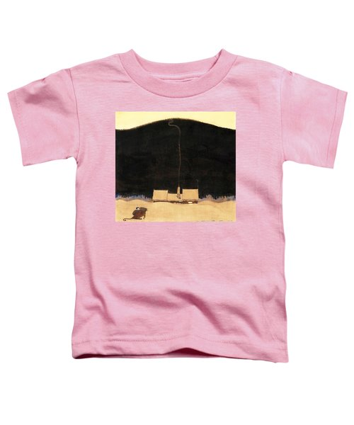 The Cottage At The Foot Of The Mountain - Digital Remastered Edition Toddler T-Shirt