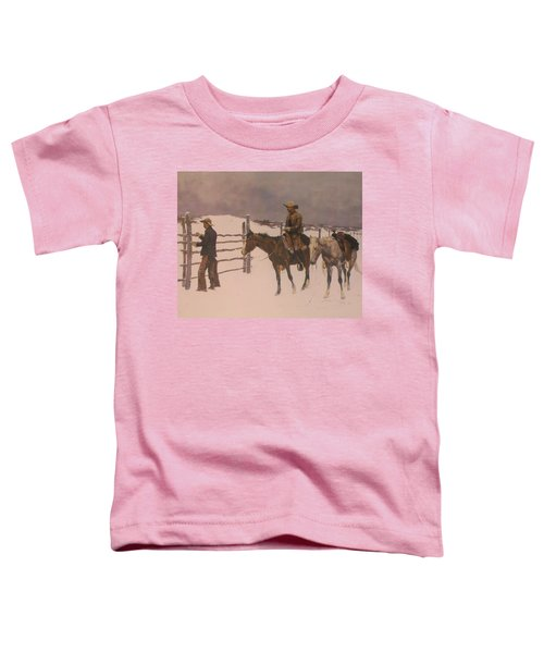 The Fall Of The Cowboy Toddler T-Shirt