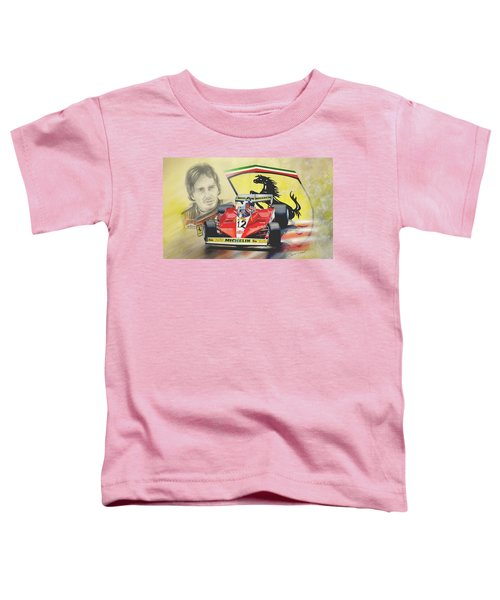 The Ferrari Legends - Gilles Villeneuve Toddler T-Shirt