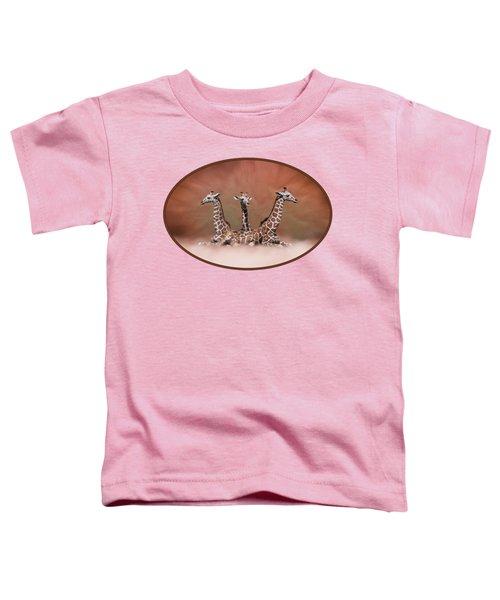 The Watchers - Three Giraffes Toddler T-Shirt