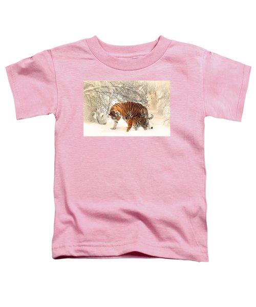 Tiger Family Toddler T-Shirt
