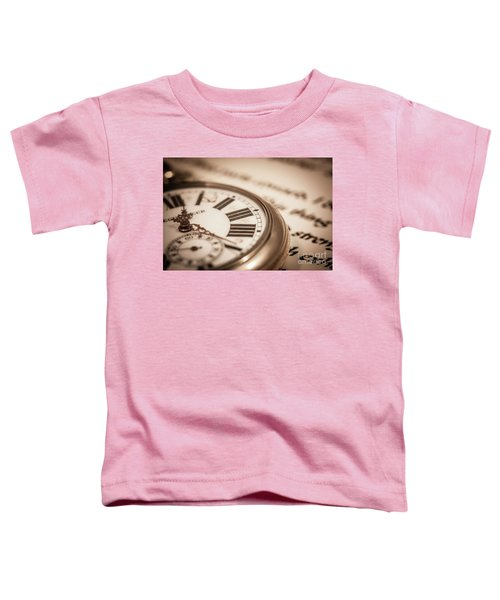 Time And Words Toddler T-Shirt