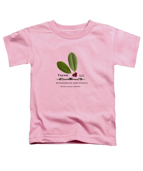 Toyon Christmas Berry Toddler T-Shirt