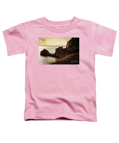 Tranquil Mediterranean Sunset    Toddler T-Shirt