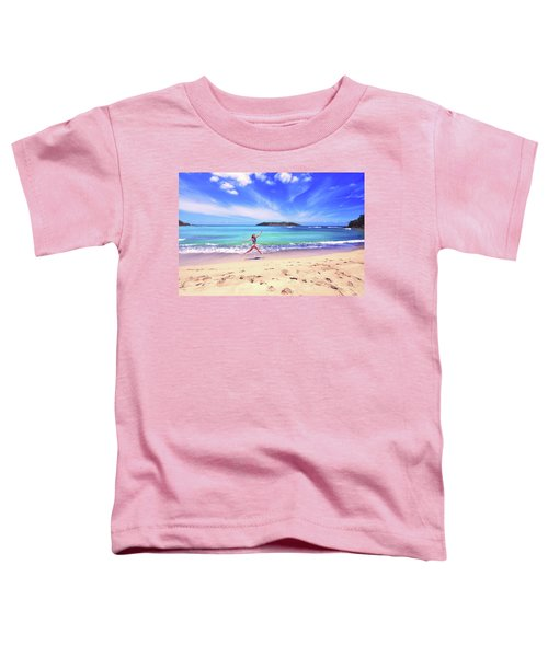 Tropical Spring Toddler T-Shirt