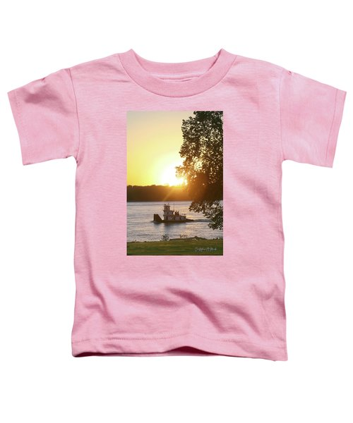 Tugboat On Mississippi River Toddler T-Shirt