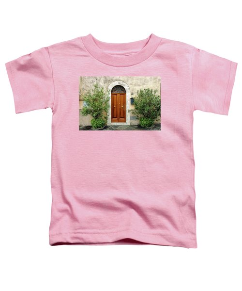 Tuscan Door Toddler T-Shirt