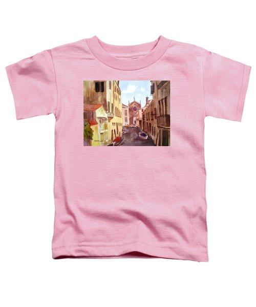 Venice Canal Toddler T-Shirt