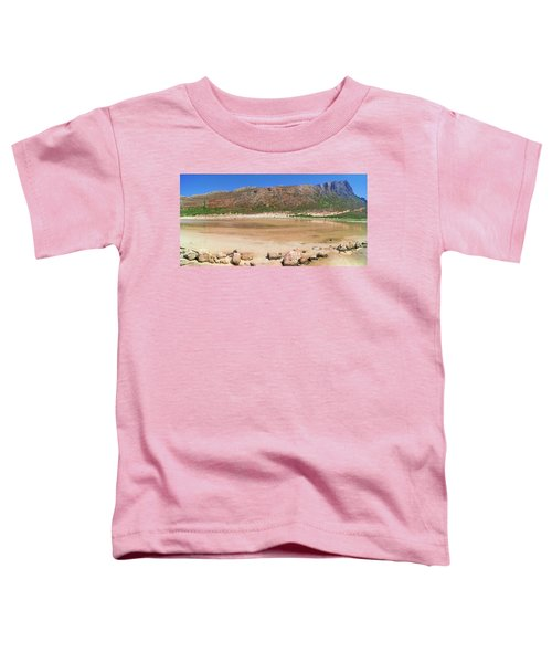 View To Gramvousa Toddler T-Shirt