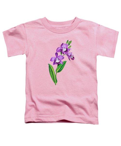 Vintage Purple  Orchidx Toddler T-Shirt