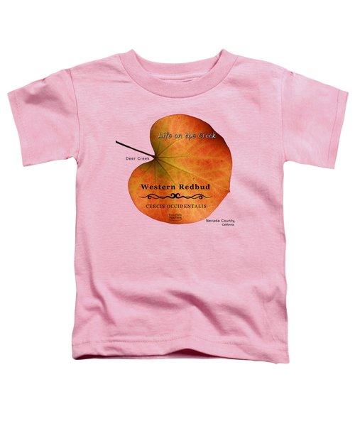 Western Redbud Toddler T-Shirt