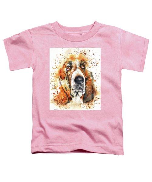 Wet Basset Toddler T-Shirt