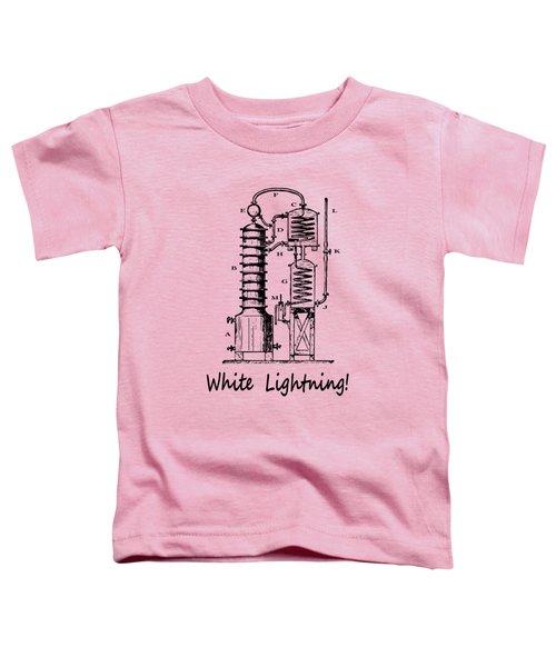 White Lightning Still Diagram - T-shirt Toddler T-Shirt