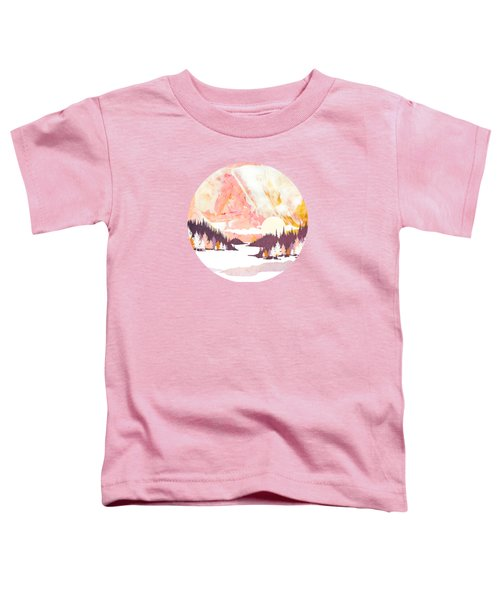 Winter Abstract Toddler T-Shirt