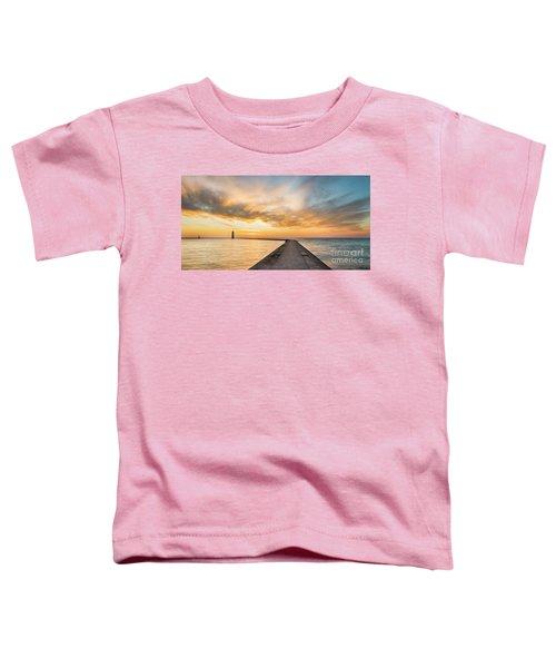 Winter Dusk In Frankfort Toddler T-Shirt