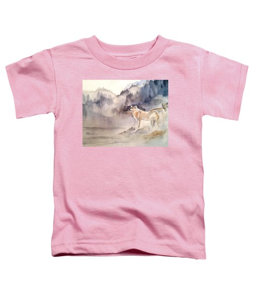 Wolves On Guard Toddler T-Shirt