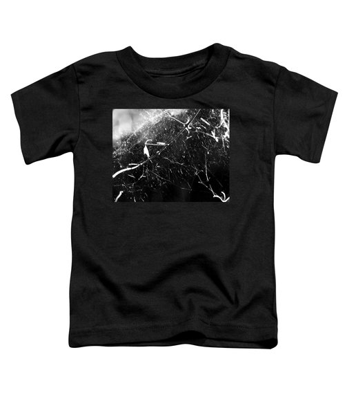 Toddler T-Shirt featuring the photograph  Spidernet by Yulia Kazansky