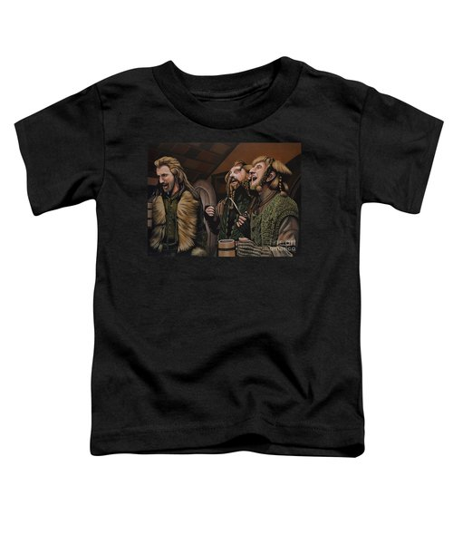 The Hobbit And The Dwarves Toddler T-Shirt