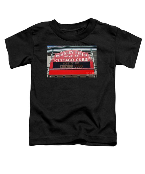 0334 Wrigley Field Toddler T-Shirt