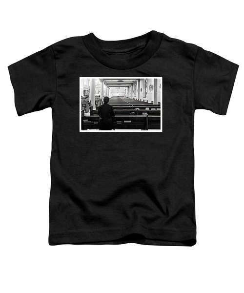 Praying In Church Toddler T-Shirt
