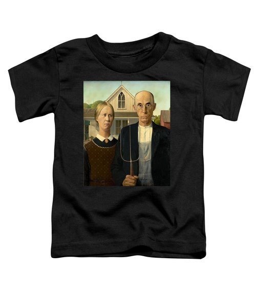 American Gothic Toddler T-Shirt