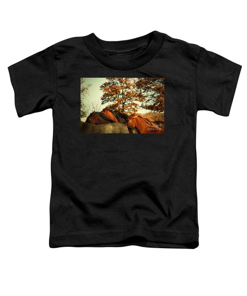 Autumn Wild Horses Toddler T-Shirt