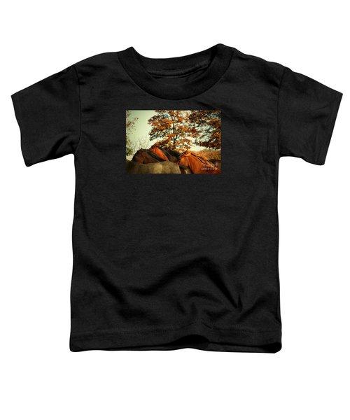 Autumn Wild Horses Toddler T-Shirt
