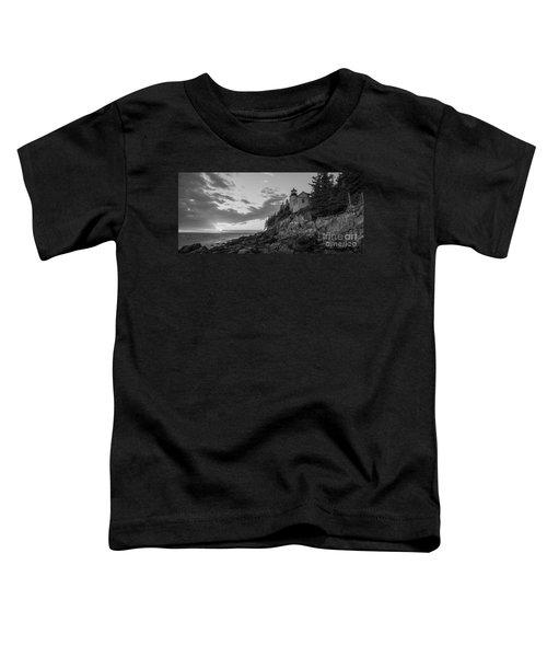 Bass Harbor Head Light Sunset  Toddler T-Shirt