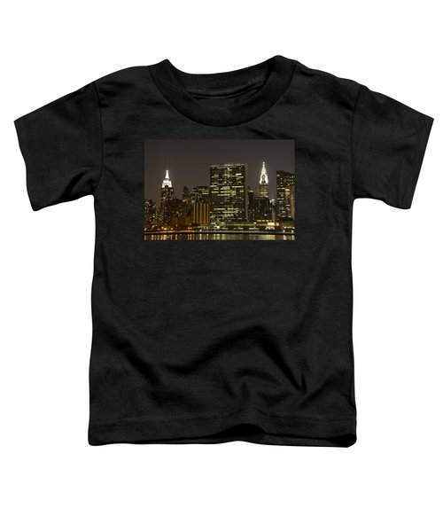 Beauty Of The Night Toddler T-Shirt