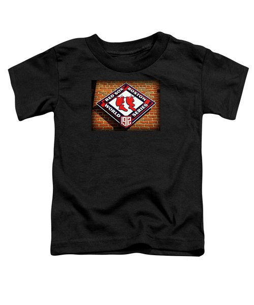 Boston Red Sox 1912 World Champions Toddler T-Shirt by Stephen Stookey